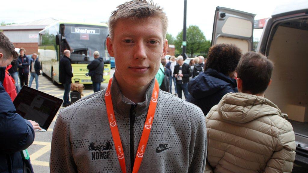 Åsane-talent viste seg frem for Brøndby