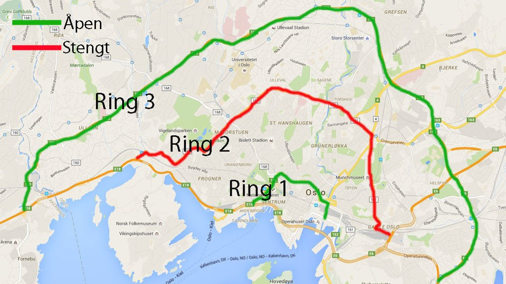 ring 2 oslo kart Romerikes Blad   NAF advarer: – Redd dieselforbud ikke bedrer  ring 2 oslo kart