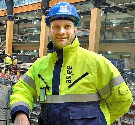 Jostein Ådalen, prosjektsjef i Prosjektavdelingen i Teknisk etat i Ås kommune.