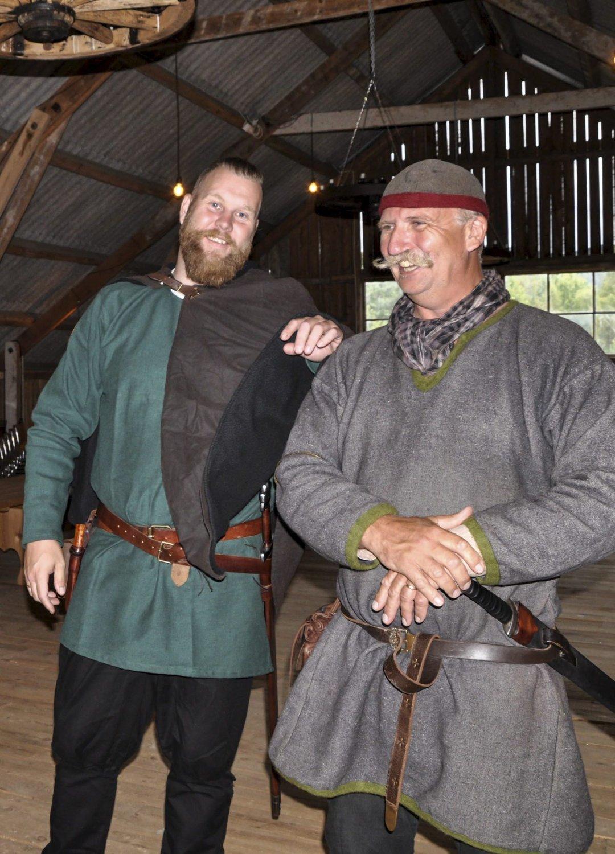 LÅVEN: Vikingbryllup med 140 gjester holdt til her sist helg.