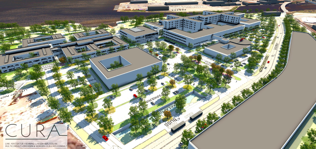 drammen sykehus kart Ringerikes Blad   Her skal nye Drammen sykehus ligge drammen sykehus kart