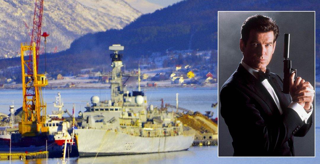 Ubåtjeger og «James Bond-stjerne» i Tromsø