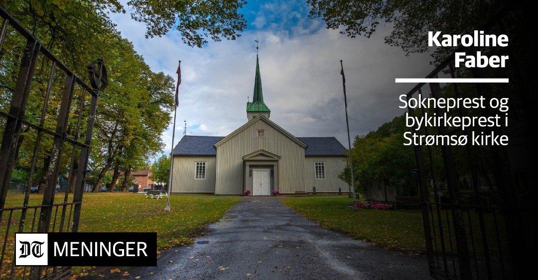 Drammens Tidende Stromso Kirke Kan Bli Et Kulturhus Pa Nedre Stromso