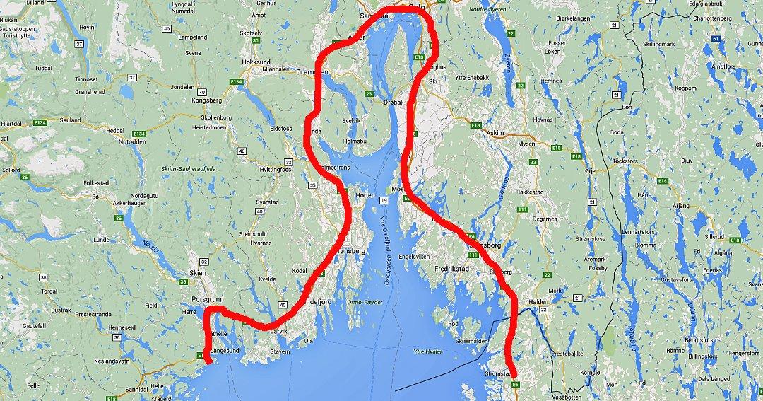 kart strømstad Telemarksavisa   Sjekk den «omveien»:   Vil starte bussrute fra  kart strømstad