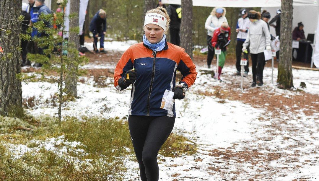 Tuva løp fort på tirsdagens karusellløp på Hensmoen (bilde fra Ringblad)