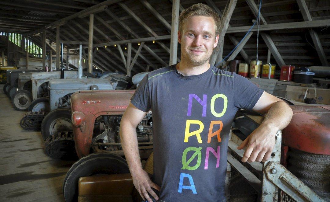 abfd01c5 Østlandets Blad - Lars-Kristian (28) kjøpte sin første Gråtass for  konfirmasjonspengene – i dag har han eget museum