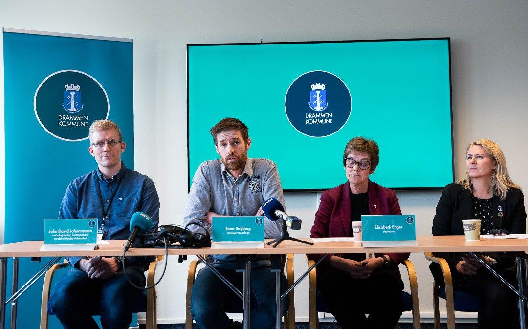 Drammens Tidende Se Pressekonferansen Om Korona Viruset I Drammen Kommune I Opptak Her Torsdag