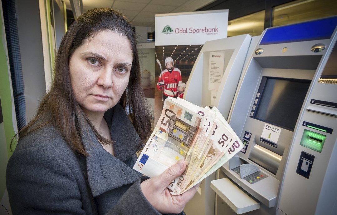 Glåmdalen - Hun vekslet euro til ferien - fikk ikke vekslet noe tilbake