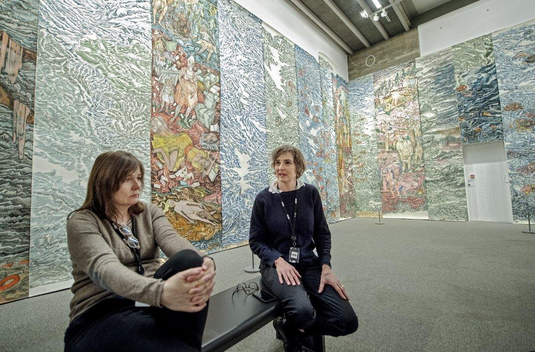 Omstridt kunstner: – Bergen er som Kuwait