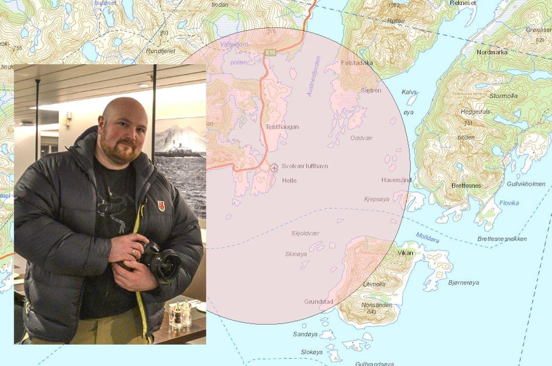 kart over leknes Lofotposten   Stenger luftrommet for droner kart over leknes