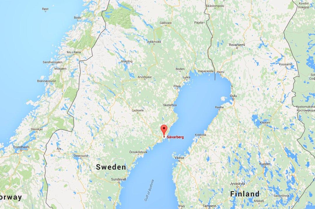 kart over umeå Rana Blad   Mann omkom etter ulykke på snøscooter i Sverige kart over umeå