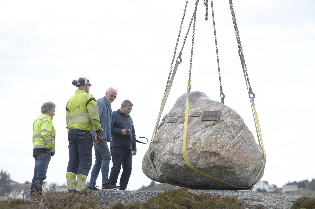 Minnesmerke avdukes på Turøy tre år etter ulykken