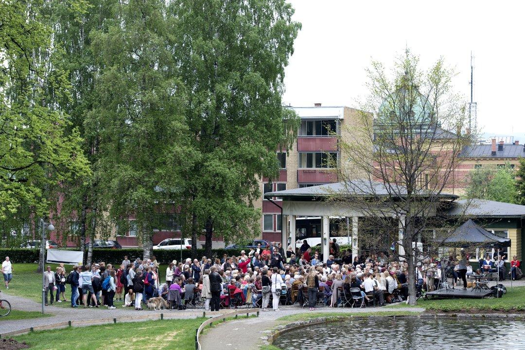 Første kapittel for litteraturbyen Lillehammer