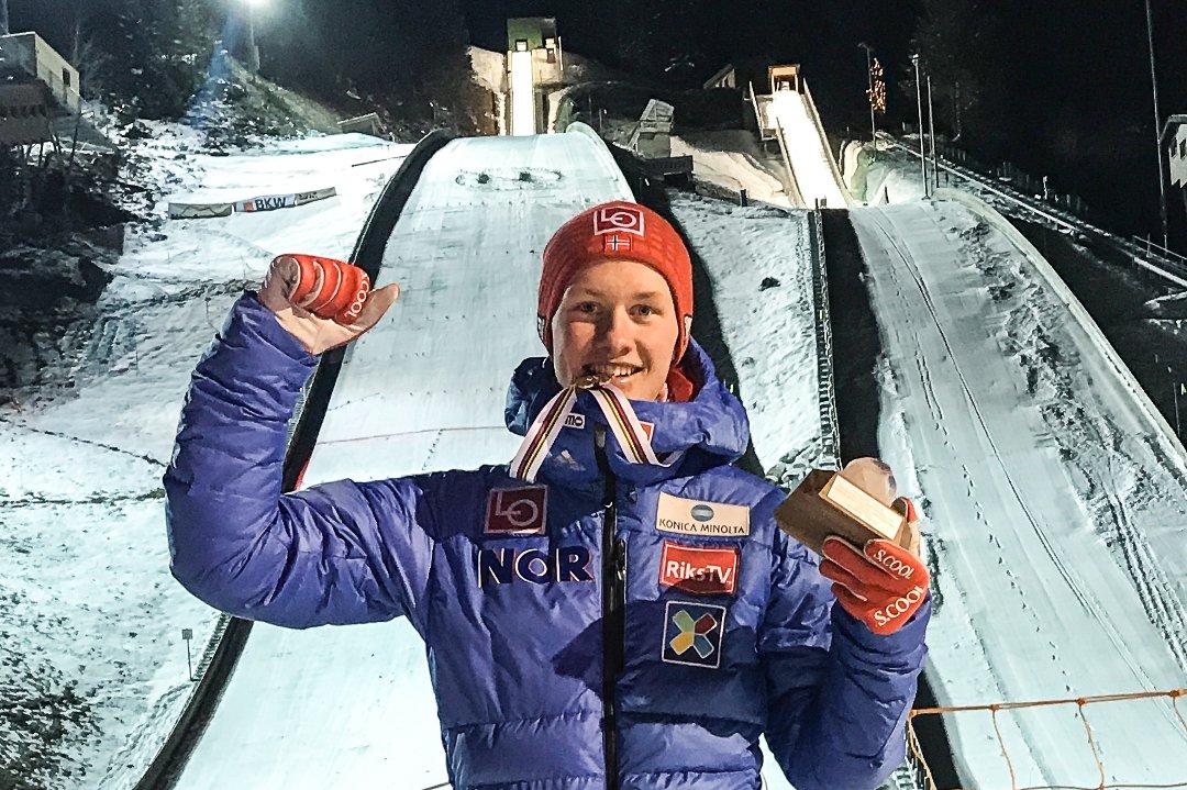 Oppland Arbeiderblad - Thomas satte punktum med seier i norgescupen