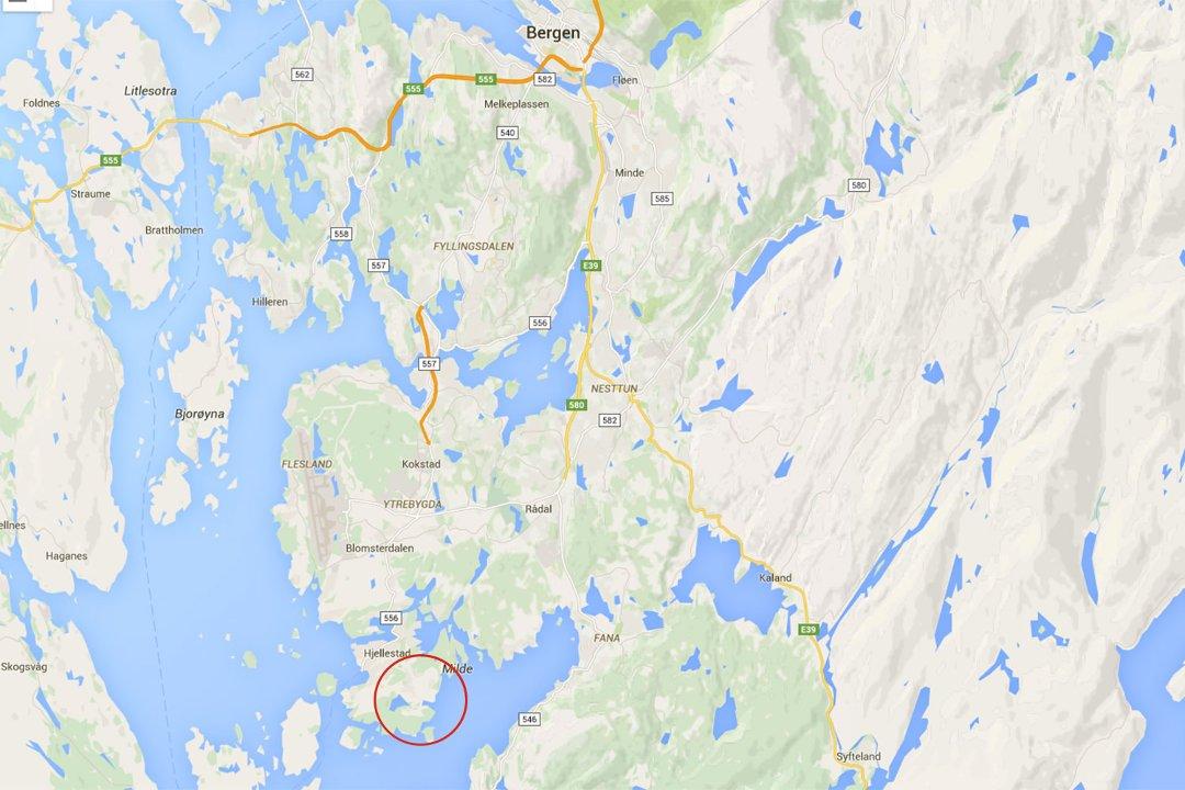 luftlinje kart Bergensavisen   Savkvinne (91) funliggende i terrenget luftlinje kart