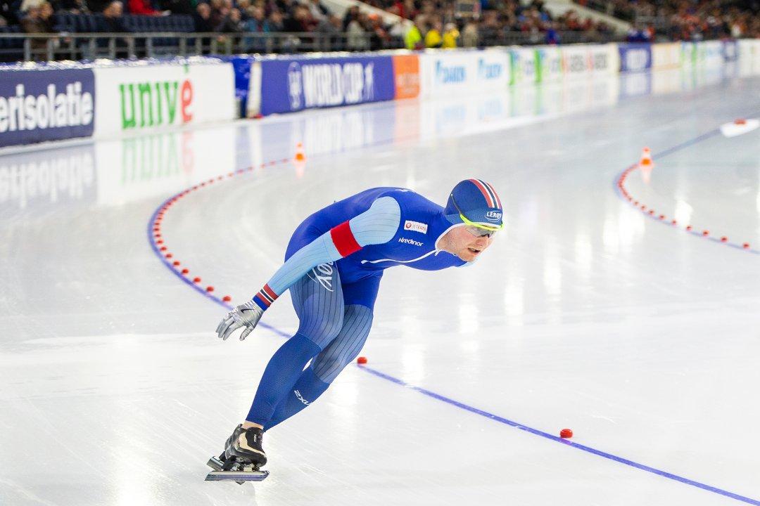 Falt utenfor pallen, men Sverre smiler: – Tror dette er rekord!