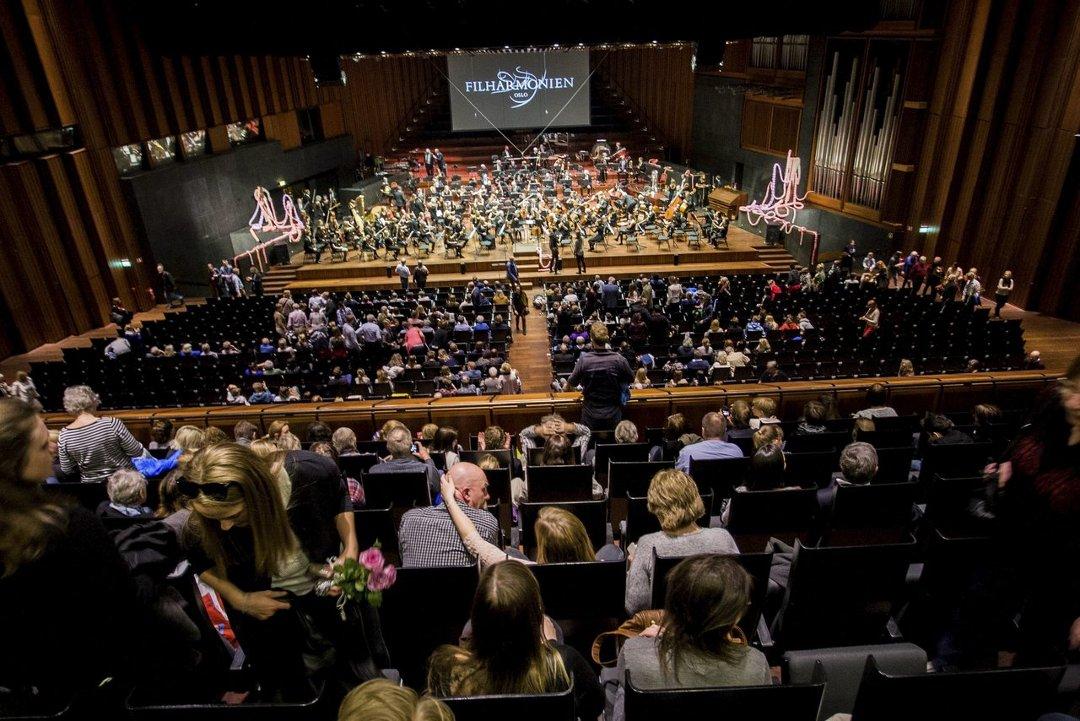 oslo konserthus kart Østlandets Blad   Follo ungdomssymfoniorkester gjestet Oslo Konserthus oslo konserthus kart