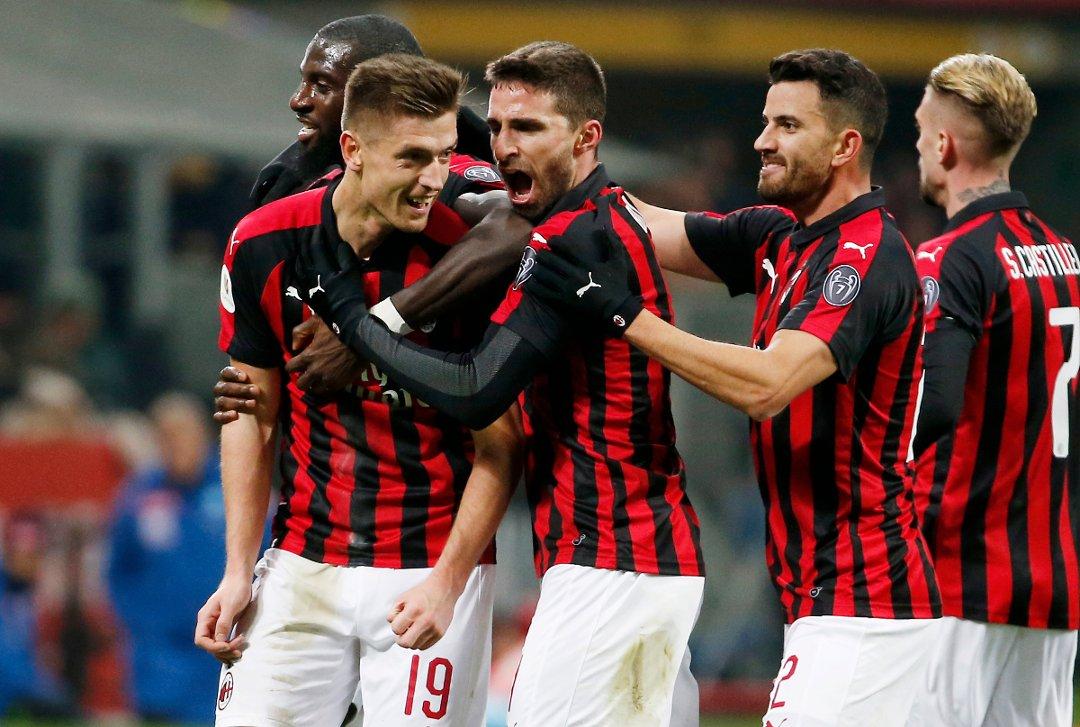 Piatek skyter AC Milan til Champions League