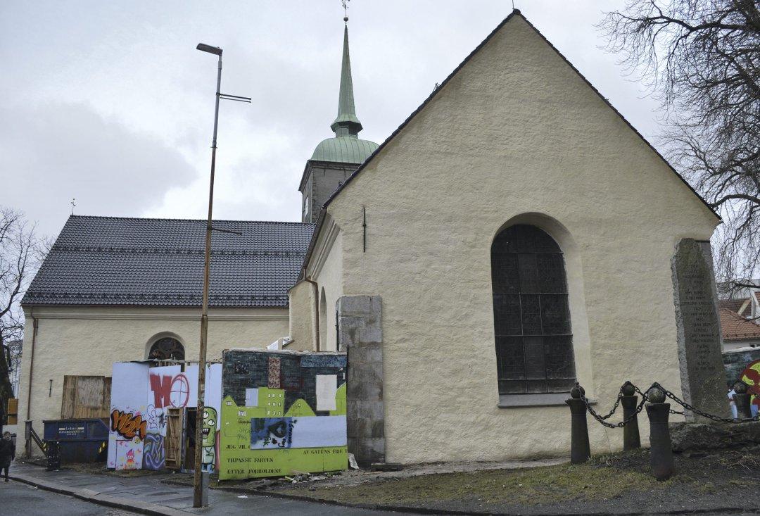 «Nye» Korskirken lyser opp