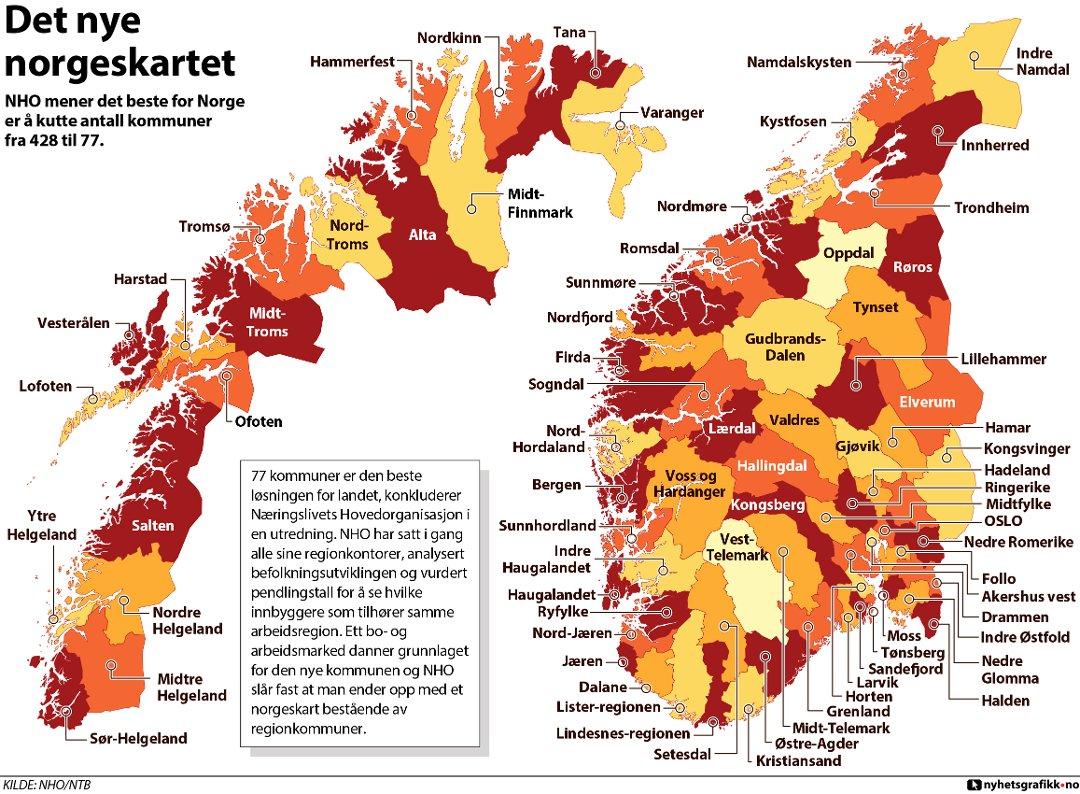 kommune kart over norge Rana Blad   Kommunereformen er en avdemokratiseringsreform, som  kommune kart over norge