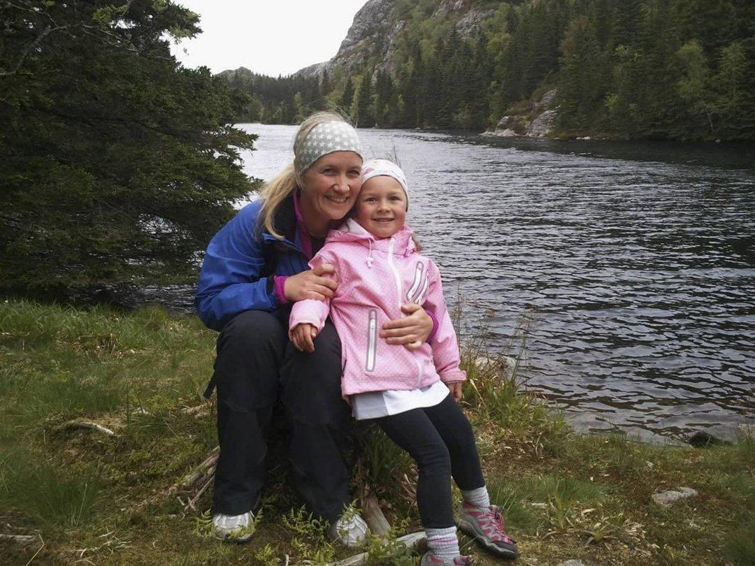 Sunniva (12) gikk 4-fjellsturen for første gang som femåring. Nå skal hun gå den for åttende gang.