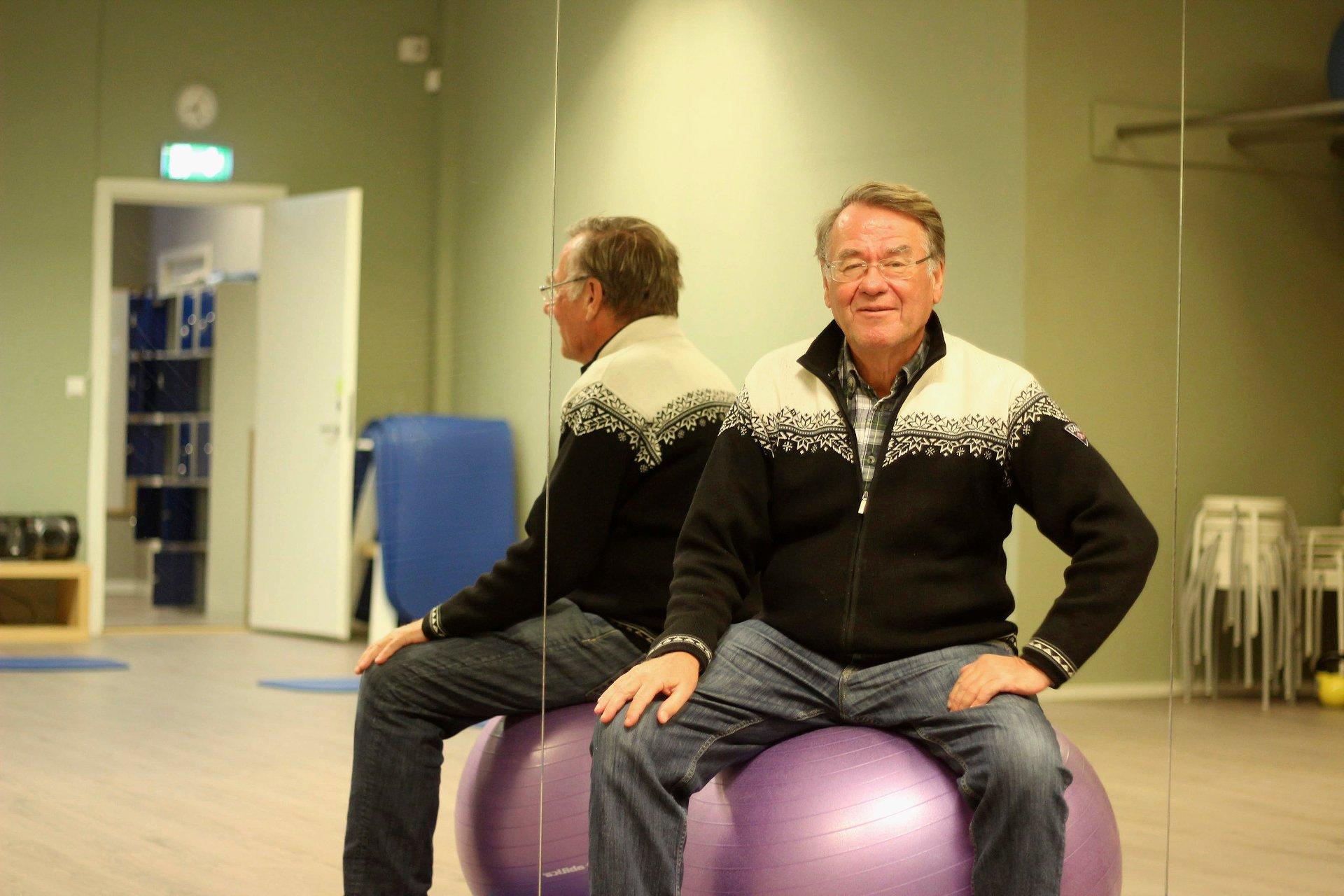 RETT FRA PENSJONIST TIL Å BLI SYK: Måneden etter Bjørn Nymoen gikk av med pensjon ble han diagnostisert med prostatakreft.