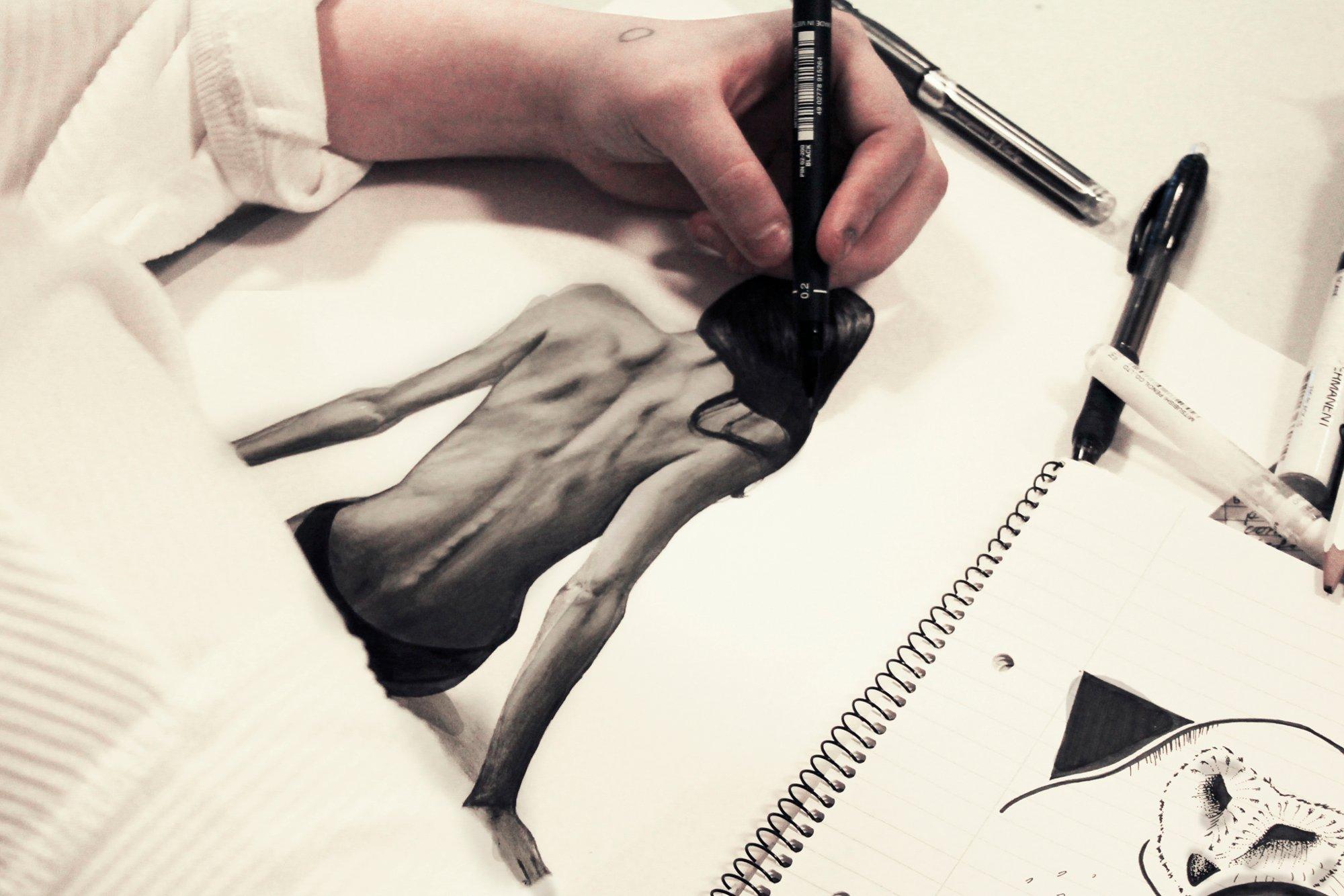 Tegne kan ting man 10 kreative