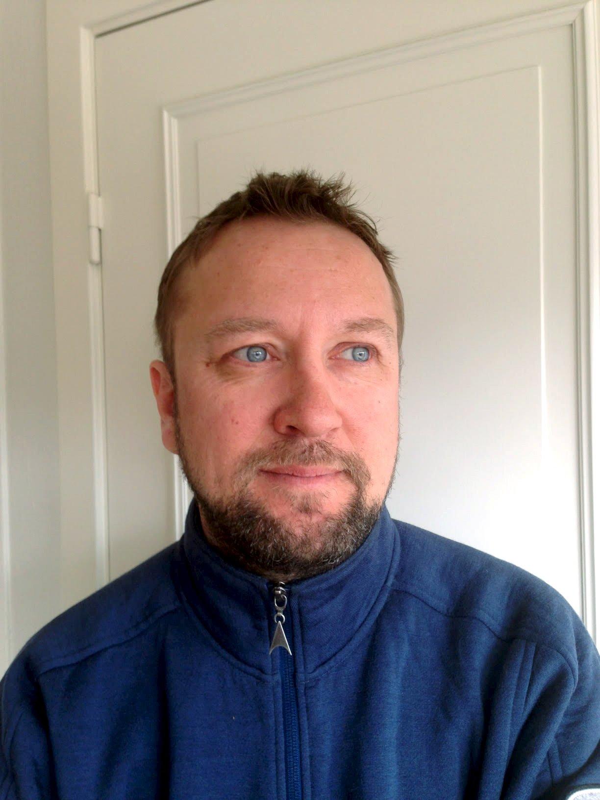 Daglig leder Vidar Skeie i Vaksdal Næringsselskap.
