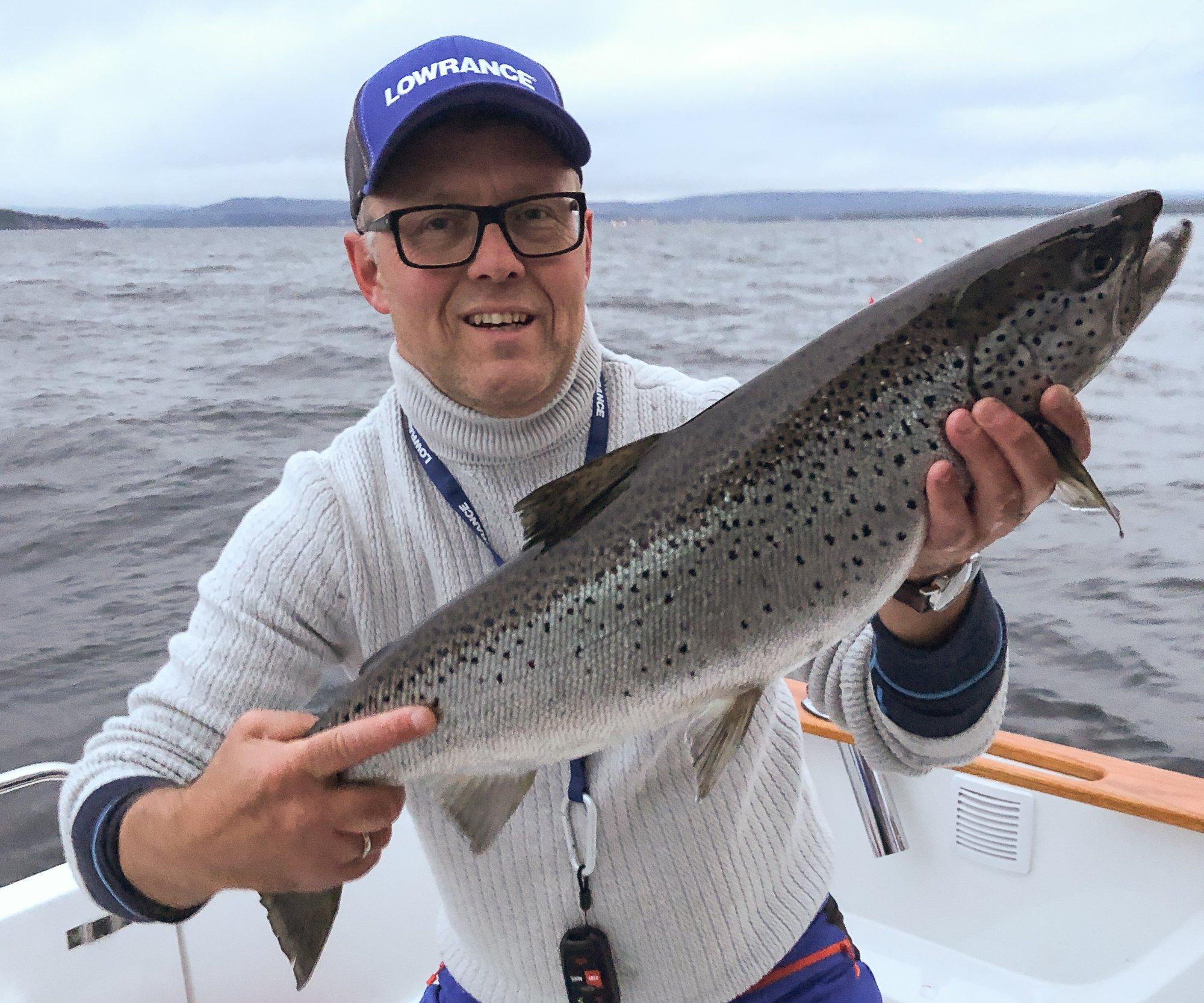 FØLER SEG OVERKJØRT: Morten Øverby i Mjøsa Felles Fiskerforening.