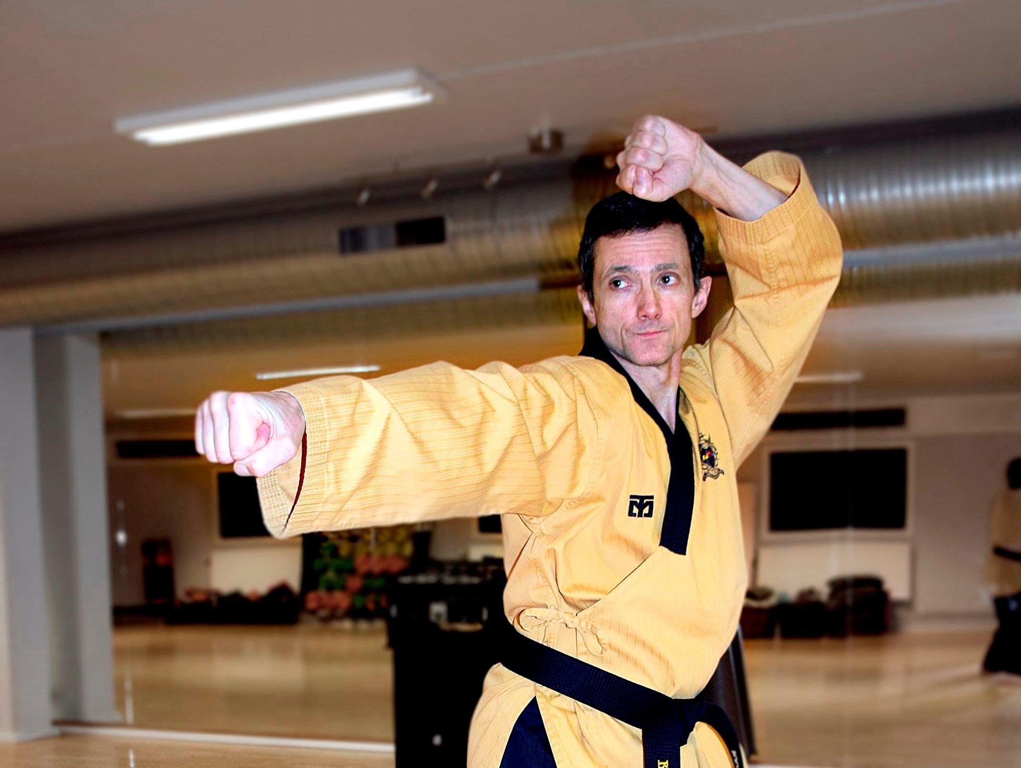 Mange som ikke funker andre steder, funker som en drøm på taekwondo-trening med Ragnar Furuli
