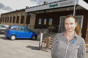 c1cfcdec Stine (31) ansatt som ny butikksjef. Europris satser på Tynset med å  totalrenovere butikken