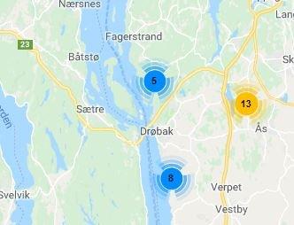 40.000 kunder berørt av fredagens strømbrudd - flere uten strøm i Amtaland også lørdag