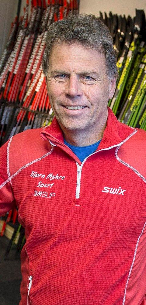 Olav Stuveseth hos Bjørn Myhre Sport.