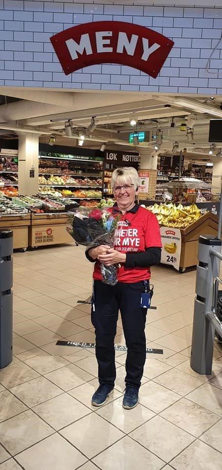 51 ÅR PÅ SAME ARBEIDSPLASS: Onsdag tok Ingrid Monsen farvel med arbeidslivet etter 51 år på same arbeidsplass