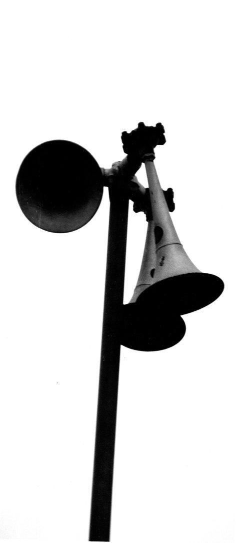 SKAL TESTES: Sivilforsvarets sirener, også kalt tyfoner.