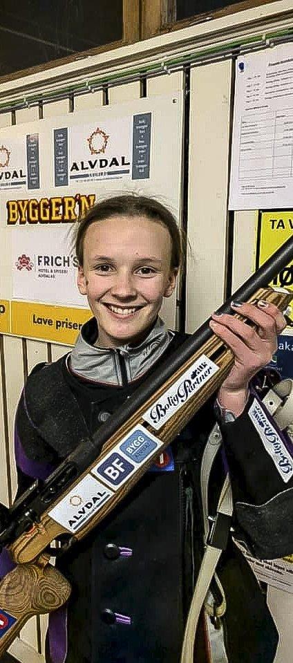 Hjemmeseier: Ovedie Bråten vant det tette oppgjøret i eldre rekrutt.