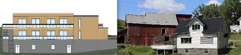FÅR RIVE OG BYGGE: Etter forslag fra Høyre gav utvalg for samfunn dispensasjon for å rive en låve på Øvre Austad og bygge nytt bygg med tre boliger og garasje uten å kreve reguleringsplan.