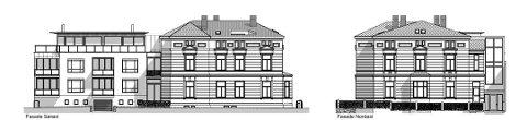 Skal forene gammelt og nytt: Slik ser arkitekten for seg Pay-villaen etter utbygging. (Illustrasjoner: SG Arkitekter)
