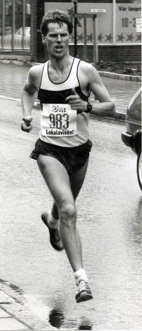 MISTET REKORDEN: Johnny Kasbo løp i 1992 maraton på 2.39,15. Den tiden har vært gjeldende klubbrekord i Askim IF fram til nå.