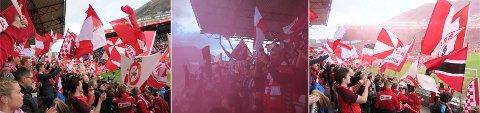Flaggdag på Stadion. (Foto: Alex Osdal)