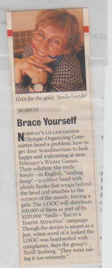Smilebøylen omtalt i Newsweek.