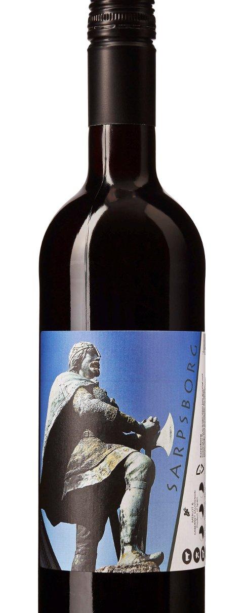 VIN-NYHET: Sarpsborg-vin er nå mulig å sikre seg.