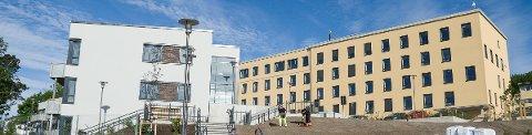 NYTT: Åsentunet (t.v.) og det gamle sykehuset som nå har fått navnet Horten Medisinske senter/ Braarudtoppen skal snart fylles med akrtivitet.