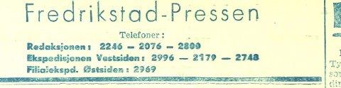 Fredrikstad-Pressen: I ekspressfart kom en ny avis ut allerede dagen etter frigjøringen.