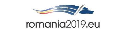 ROMANIAS ULVELOGO: Romania overtar formannskapet i EU og bruker en ulv i logoen for sin formannskapsperiode.