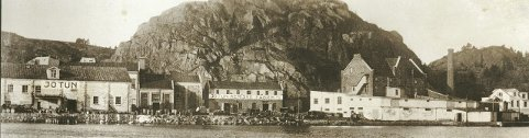1930: Jotun Kemiske Fabrik – starten på malingseventyret på Gimle fire år tidligere.