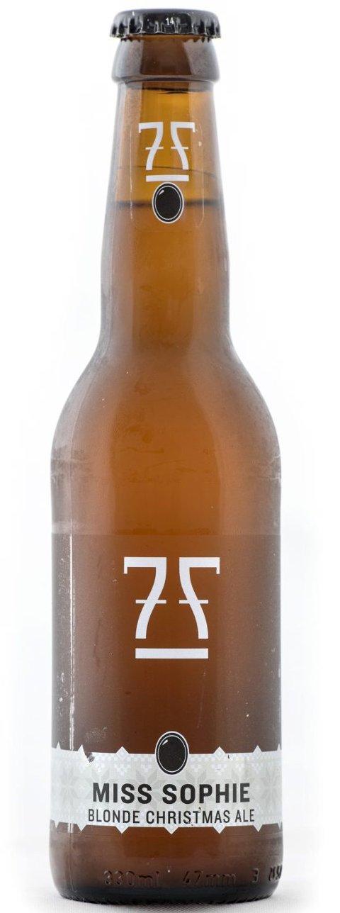 BA tester og kårer Hordalands beste juleøl.Miss Sophie, 7Fjell bryggeri. 0,33cl 42,- 4,7% Terningkast: 5.FOTO: SKJALG EKELAND