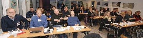 DELTAKERNE: Her er flesteparten av deltakerne påm Vadsø-seminaret 2016. Uværet gjorde at noen ikke kom seg til Vadsø.
