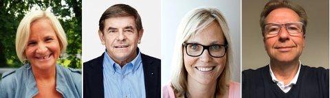 JURY: Elisabeth Jølstad Hilde, Per Anders Nordengen, Kristin Stoltenberg og Bjørn Engen skal innstille på hvem som får midler.