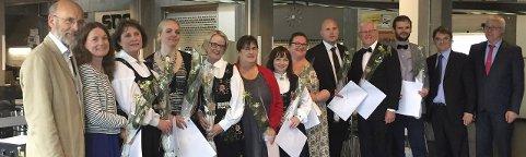 PIONERSTUDIUM: For første gang ved et norsk lærested fikk studenter sin masterdiplom i alderskunnskap. Foto: Heidi Vifladt